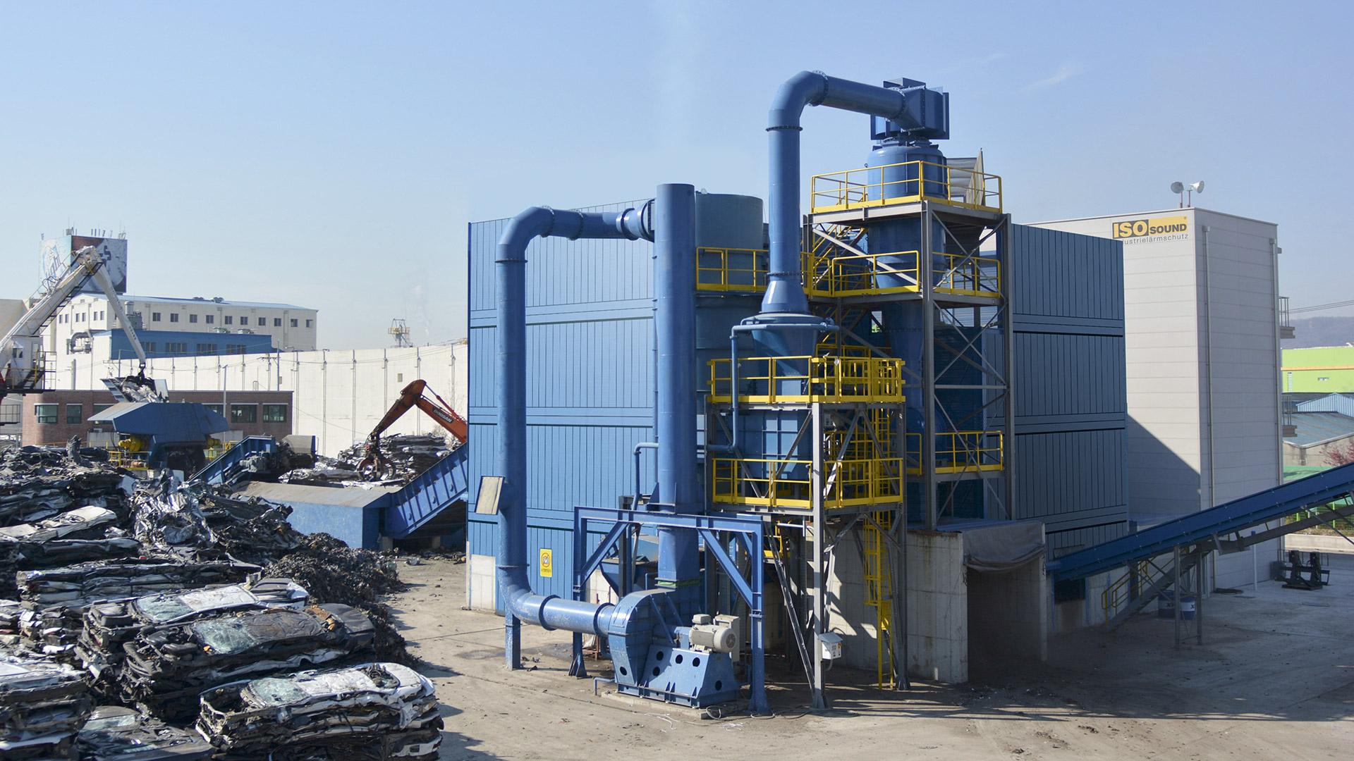 Industrielärmschutz